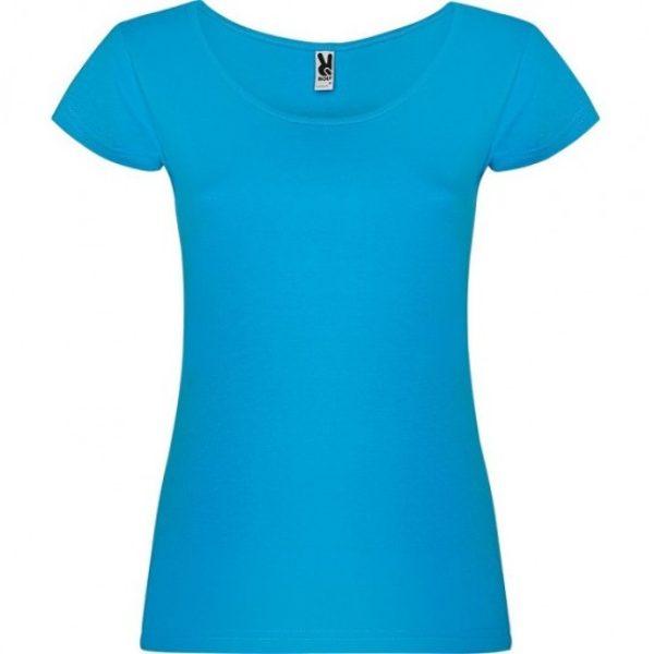 Tricou dama bumbac bleu Guadalupe 6647